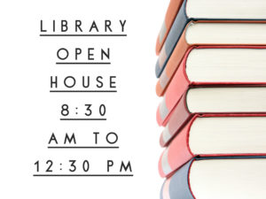 Library Open House @ Library